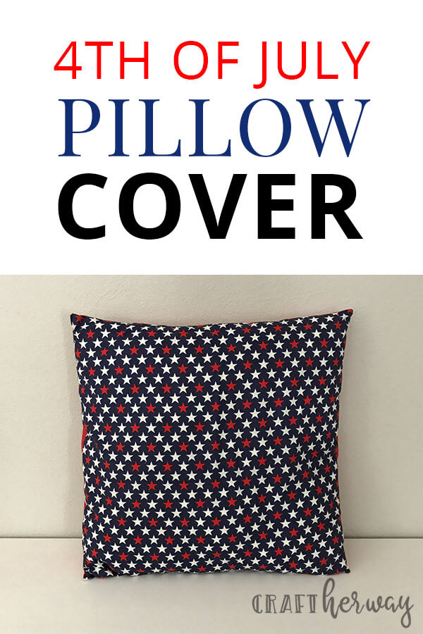 4th of July Pillow Cover