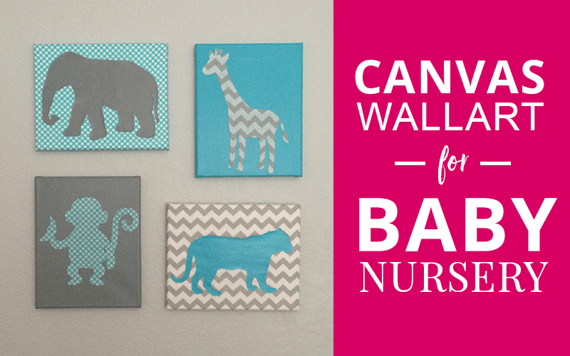 baby nursery canvas wall art