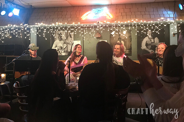 In the Row performance at Bluebird Cafe Nashville