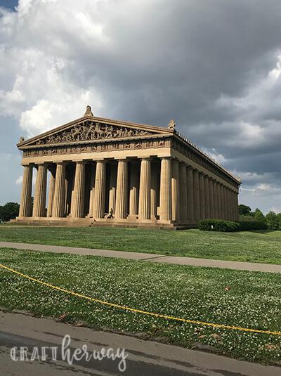 nashville's Parthenon at Centennial park - 9 things to do in Nashville