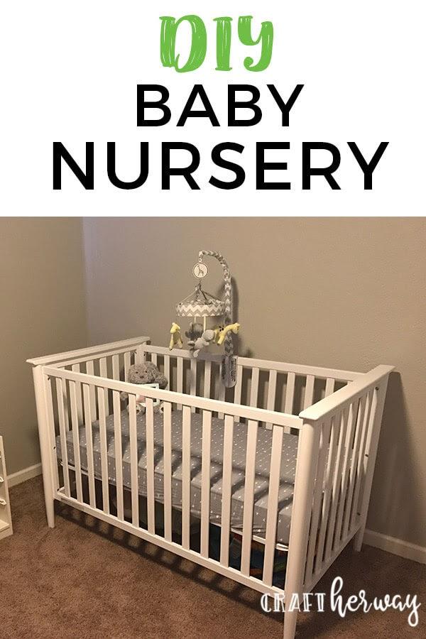 diy baby nursery ideas pin