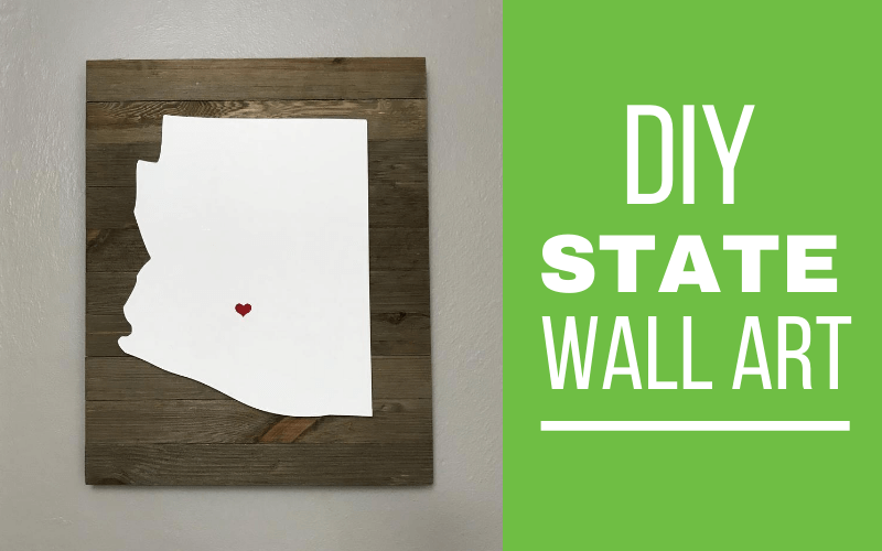 Arizona state wall art and decor ideas