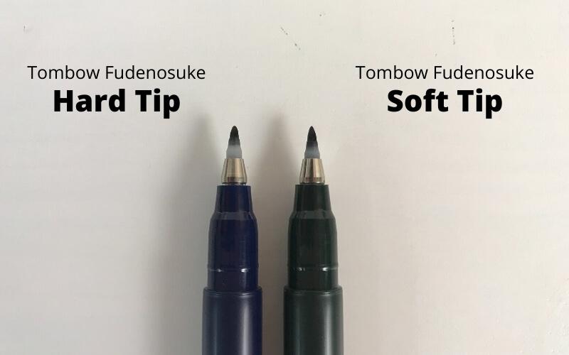 tombow fudenosuke brush pen for beginners