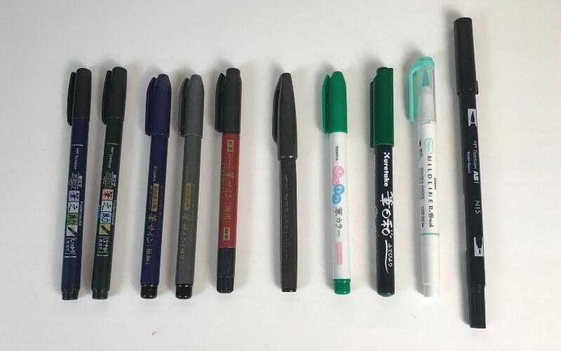 7 best brush pens for beginners